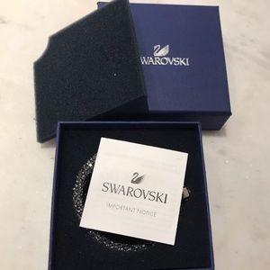 NWT Swarovski Crystaldust Double Bangle